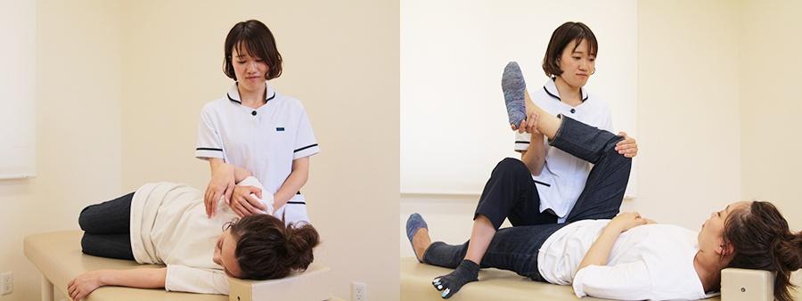 女性施術者の写真