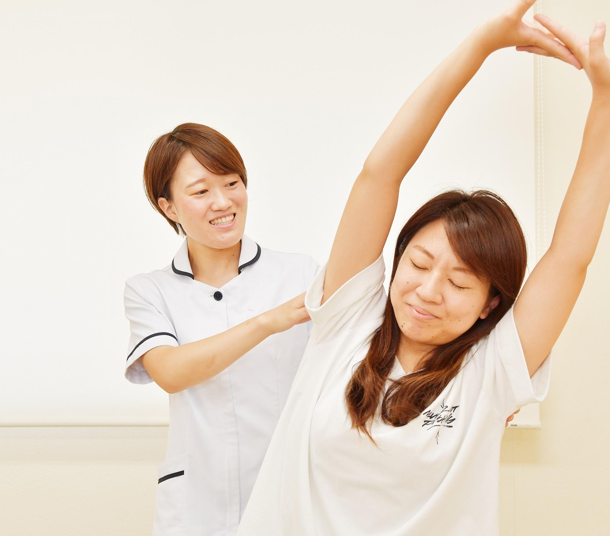 五十肩整体の改善方法2