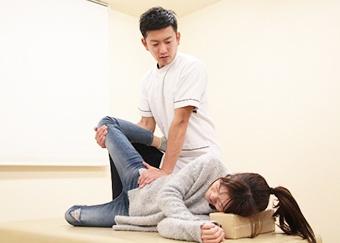 産後骨盤矯正の施術方法6