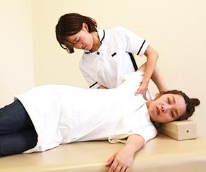 肩こり 整体施術2