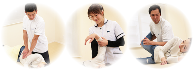 名古屋市天白区 産後の骨盤矯正 整体施術